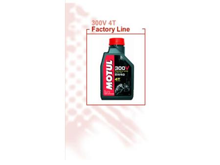 MOTUL 300V FACTORY LINE 5W40 RACING 4L